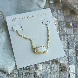 Kendra Scott Elisa Necklace Gold Ivory Pearl